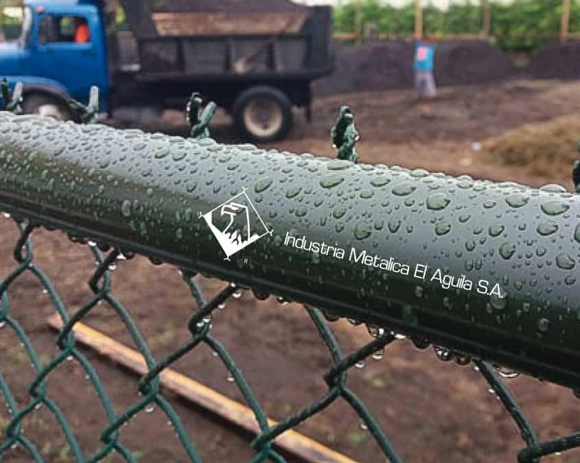 Malla metálica galvanizada forrada en pvc Guatemala