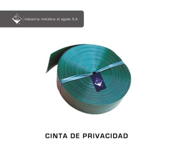 Cinta de privacidad o privacinta Guatemala